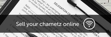 Selling Hametz Online